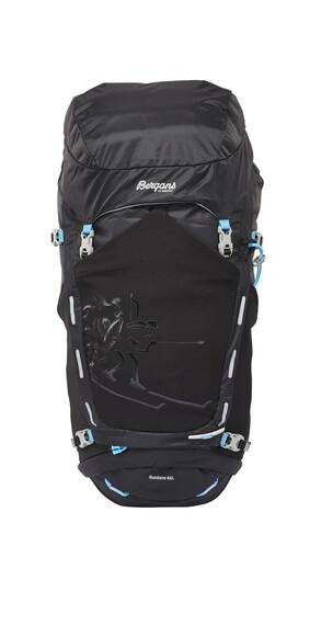 Bergans Rondane Backpack 46l Black/Bright Sea Blue
